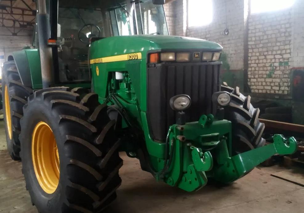 Ремонт тракторов John Deere серии: 8100, 8200, 8300 и 8400, фото 1