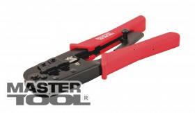 MasterTool  Клещи для обжима штекеров RJ11, RJ12, RJ45 190 мм, Арт.: 75-2243