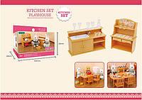 Мойка + шкаф с посудой (аналог Sylvanian Families), для ЛОЛ, фото 1