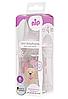 Бутылочка стеклянная антиколиковая Nip Мишка 125 мл, розовая, фото 2
