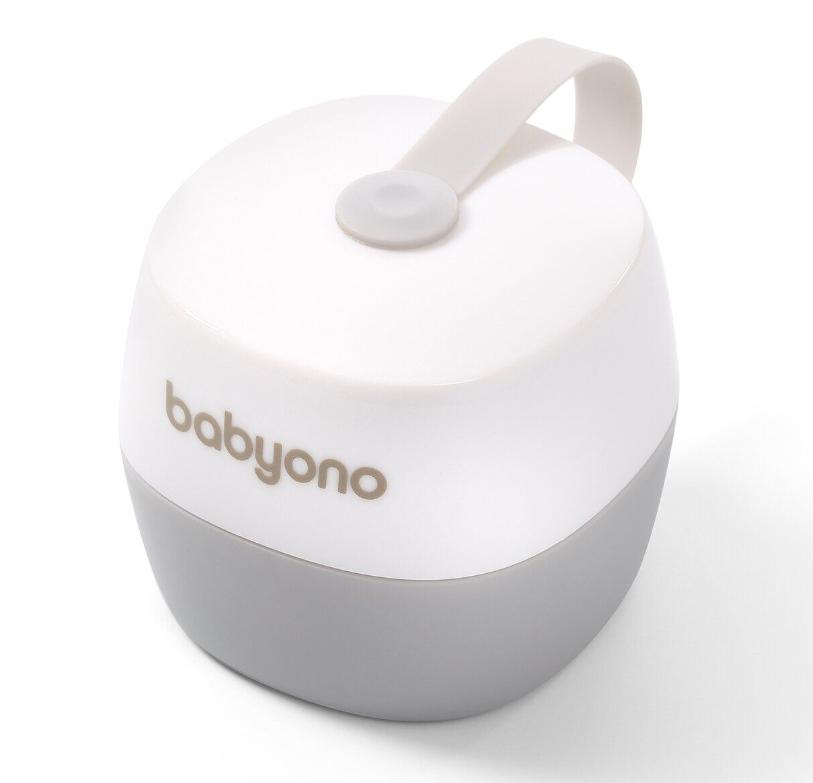 Футляр-контейнер для пустышки BabyOno Белый
