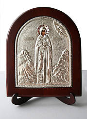 Святая Наталья икона в серебре