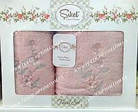 Качественные бамбуковые полотенца в подарочной коробке 880228