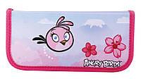 Школьный пенал-книжка Angry Birds, на молнии