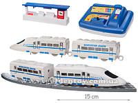 Железная дорога на батарейках с управлением