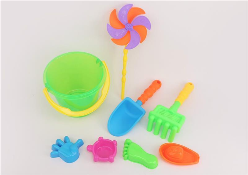 Набір для гри з піском Same Toy з Повітряної вертушой (зелене відро)8 штНУ-1207WUt-1
