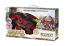 Динозавр Same Toy Dinosaur Planet Дракон червоний зі світлом і звуком RS6139AUt