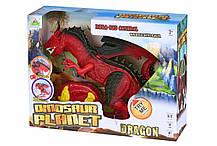 Динозавр Same Toy Dinosaur Planet Дракон червоний зі світлом і звуком RS6139Ut