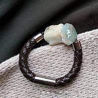 Натуральный камень амазонит. браслет из натурального камня