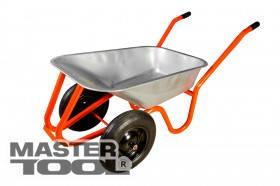 MasterTool  Тачка садово-строительная 85 л/ 250 кг, двухколесная, Арт.: 79-9846