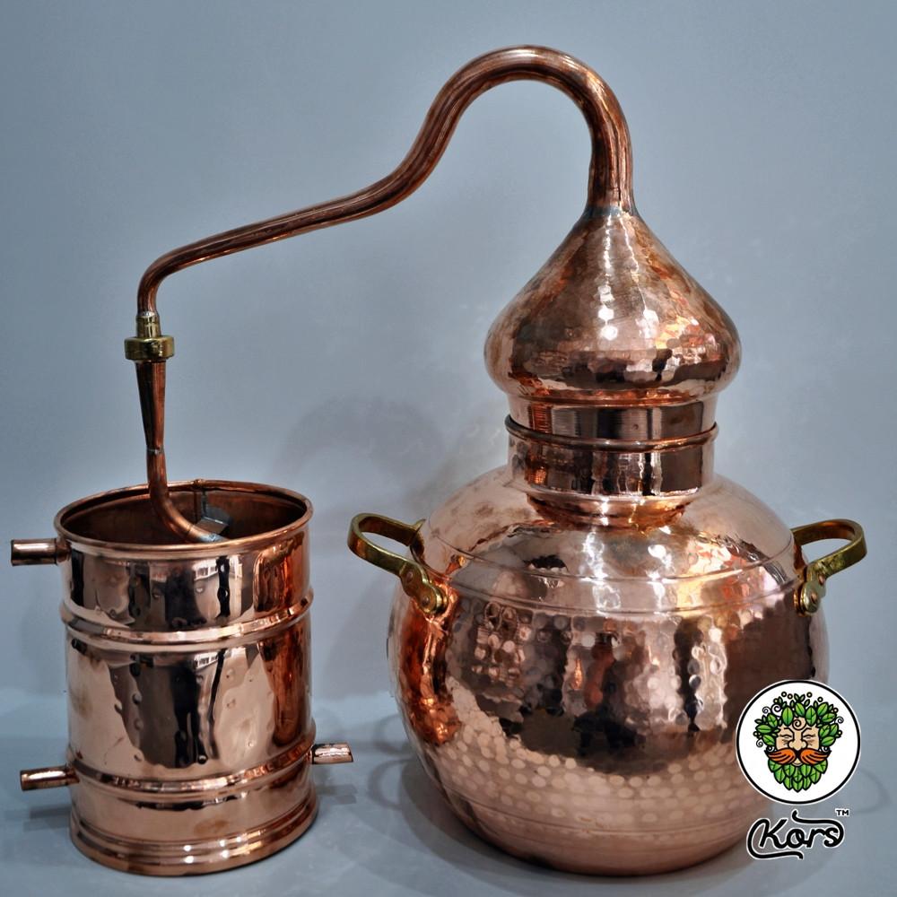 Аламбик классика паянный 20 литров (с термометром)