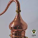 Аламбик с колонной паянный 10 литров, фото 3
