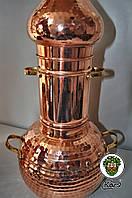 Аламбик с колонной клепаный 10 литров