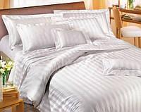 Постельное белье гостиница, страйп сатин, евро 550015