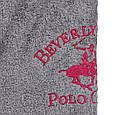 Халат Beverly Hills Polo Club XS/S grey серый 355BHP1706, фото 5