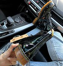 Женские ботинки Dr. Martens 1460 Patent Black, демисезон (так же есть с мехом!), фото 2