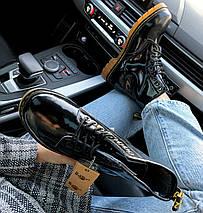 Женские ботинки Dr. Martens 1460 Patent Black, демисезон (так же есть с мехом!), фото 3