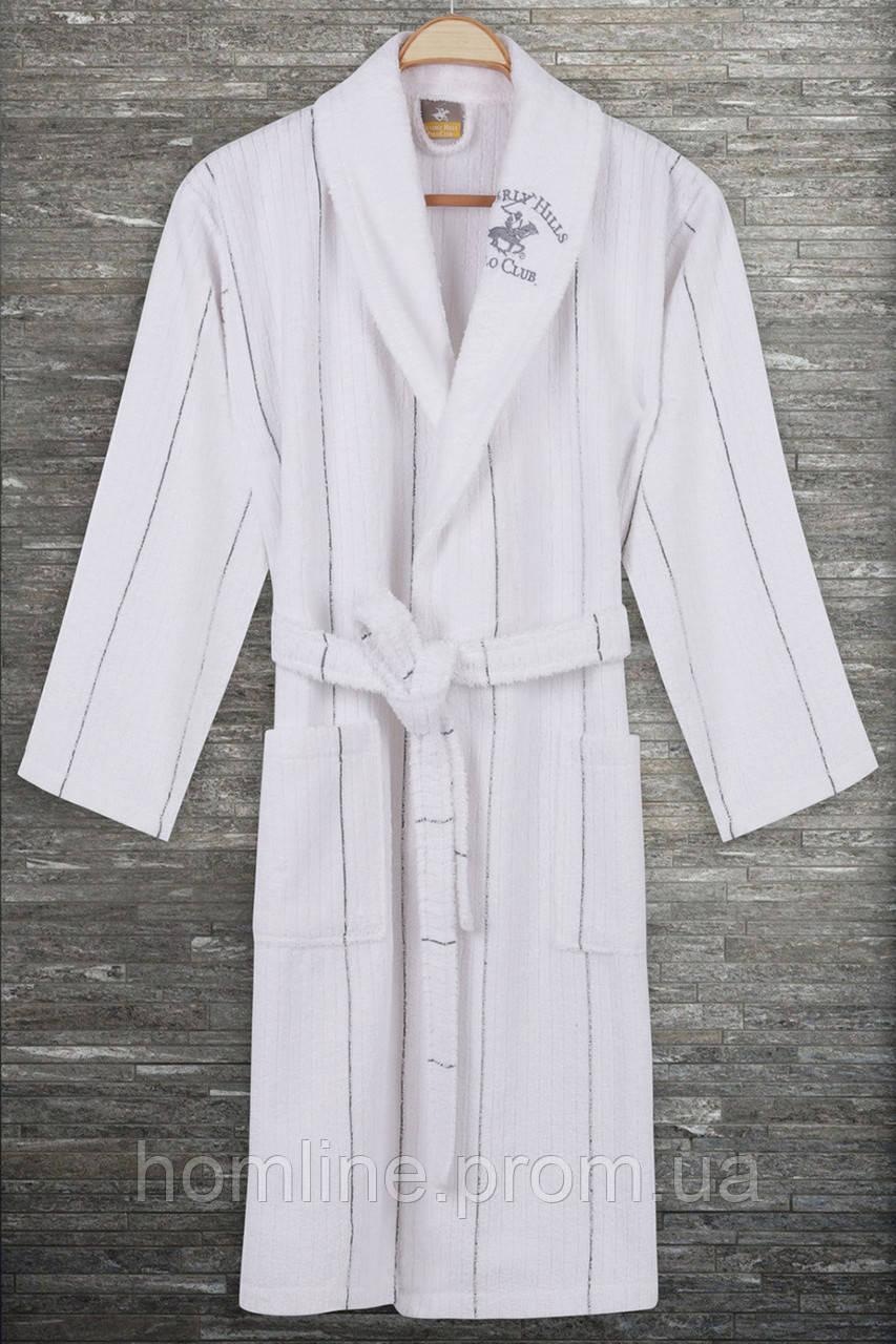 Халат Beverly Hills Polo Club S/M grey серый 355BHP1715