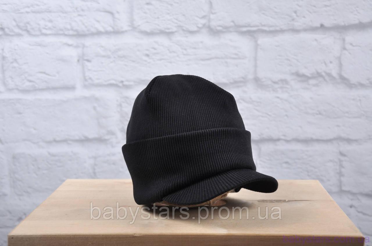 """Шапочка демисезонная """"Otto"""", черная"""