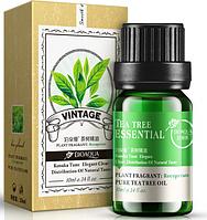 Эфирное массажное масло для лица Bioaqua с маслом чайного дерева 10 мл