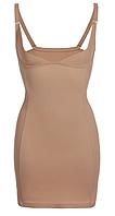 Коригуючий сукню, колір бежевий, фото 1