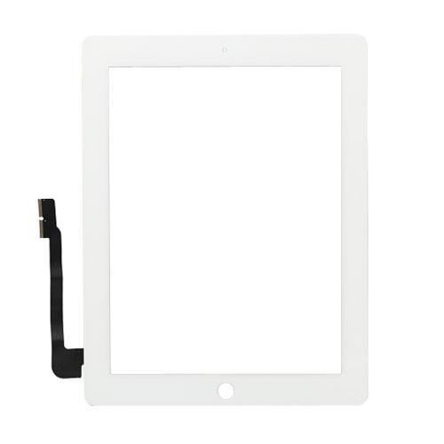Сенсор (тачскрин) iPad 3, iPad 4 белый