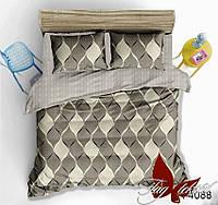 Семейный комплект постельного белья с компаньоном R4088