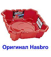 Арена червона 4 кута базова Бейблейд Beyblade Burst Chaos Core (Basic) Beystadium Оригінал Hasbro