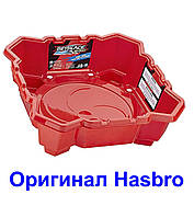 Арена для Бейблейд Турниров Красная Базовая 4 угла Beyblade Burst Chaos Core Basic Beystadium Оригинал Hasbro