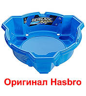 Бейблейд Арена синяя 3 угла базовая Beyblade Burst Beystadium Оригинал Hasbro