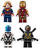 Конструктор Bela 11262Битва на базе Мстителей. Супергерои (Аналог Lego Super Heroes 76131), фото 6