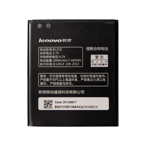 Аккумулятор  Lenovo BL210 S820, S820e, A750e, S650, S658T, A656, A766, A658t 2000 mAh
