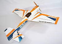 Самолёт на радиоуправлении Precision Aerobatics Extra 260 1219мм KIT. желтый - 139838