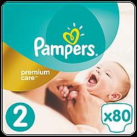 Pampers. Подгузники Pampers Premium Care New Born Размер 2 (Для новорожденных) 3-6 кг, 80 шт (741633)