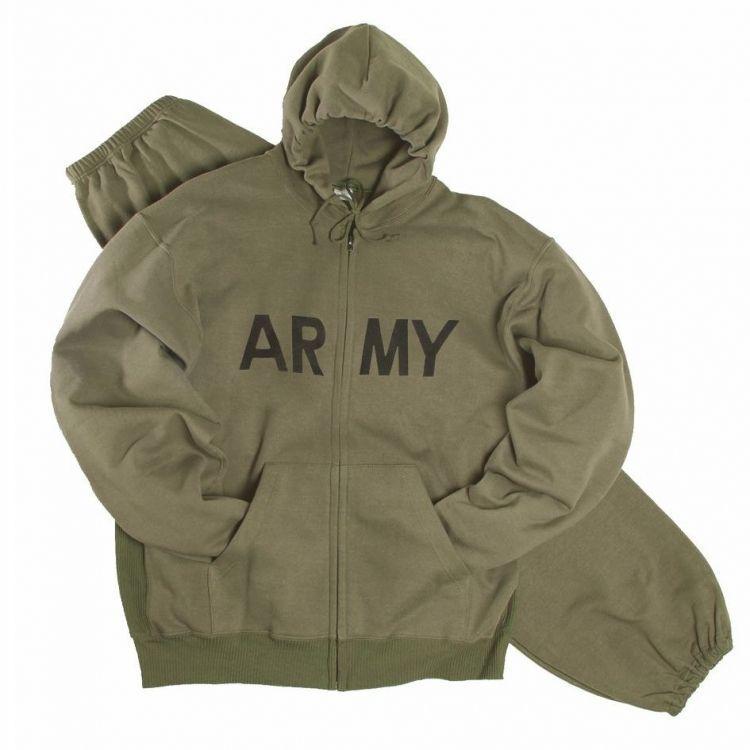 Теплые спортивные костюмы ARMY от Mil-tec олива