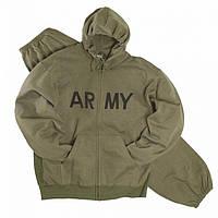 Теплые спортивные костюмы ARMY от Mil-tec олива, фото 1