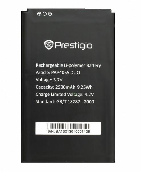 Аккумулятор 100% оригинал Prestigio 4055