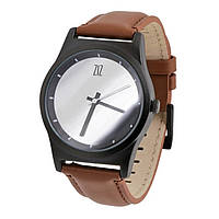 Часы Ziz Mirror в подарочной коробке на кожаном ремешке и доп. ремешок - R142766