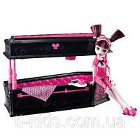 Набор Дракулаура и кровать-шкатулка - Draculaura and Jewelry Box Coffin Set Dead Tired