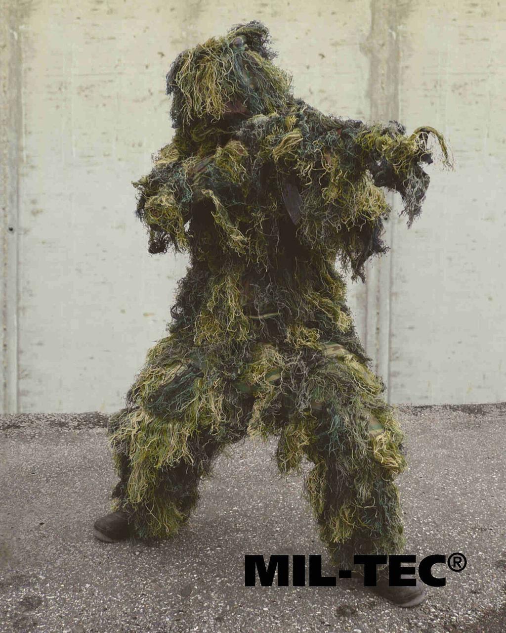 Маскировочный костюм Ghillie Woodland by Miltec