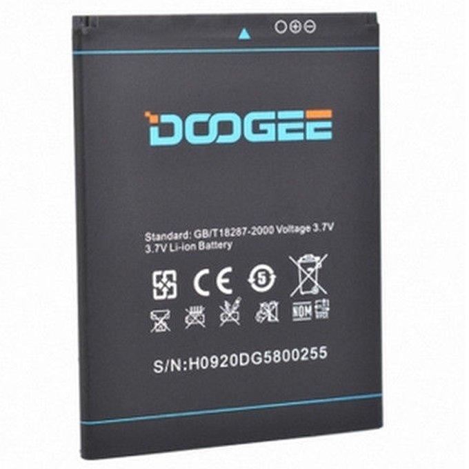 Аккумулятор 100% оригинал Doogee DG580 Kissme 2500mAh
