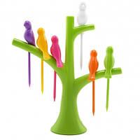 Шпажки Птички на дереве - R152632