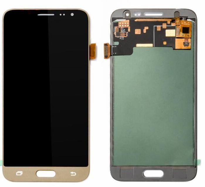 Дисплей Samsung J320 Galaxy J3 (2016) TFT регулируемая подсветка + сенсор золотой