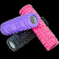 Йога-роллер фитнес-валик Grid Combi Yoga Roller 9х30 см для массажа рук, ног, спины