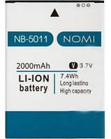 Аккумулятор 100% оригинал Nomi NB-5011 i5011