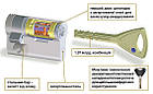Цилиндр Abloy Protec 2 HARD 93 (32х61) S-L закаленный ключ-ключ, фото 2