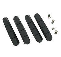 Гумки гальмівних колодок Shimano Dura-Ace R55C4 касетна фіксація керамічне покриття (2 пари)