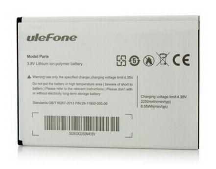 Аккумулятор  Ulefone Paris