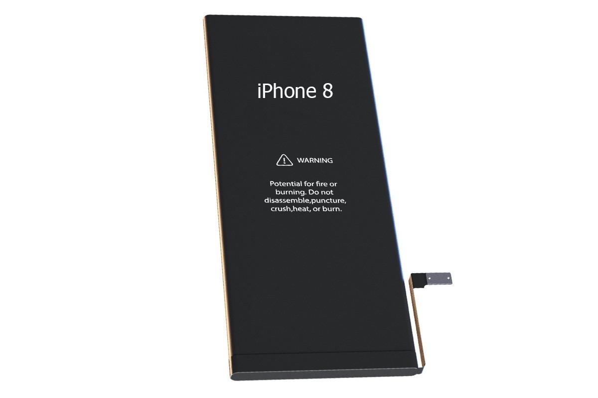 Аккумулятор 100% оригинал IPhone 8 Sony