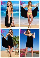 """Платье-парео """"Victoria Secrets"""" (цвет черный ), фото 1"""